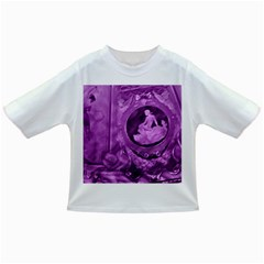 Vintage Purple Lady Cameo Infant/toddler T Shirts by BrightVibesDesign