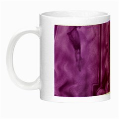 Vintage Purple Lady Cameo Night Luminous Mugs