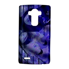 Blue Theater Drama Comedy Masks Lg G4 Hardshell Case by BrightVibesDesign