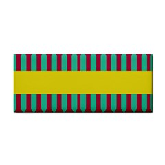 Stripes And Other Shapes   hand Towel by LalyLauraFLM