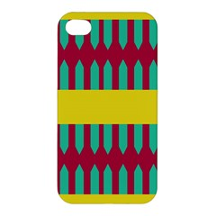 Stripes And Other Shapes   Apple Iphone 4/4s Hardshell Case by LalyLauraFLM