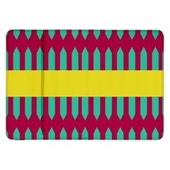 Stripes And Other Shapes   			samsung Galaxy Tab 8 9  P7300 Flip Case by LalyLauraFLM