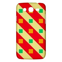Squares And Stripes    			samsung Galaxy Mega 5 8 I9152 Hardshell Case by LalyLauraFLM
