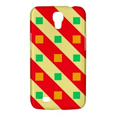 Squares And Stripes    			samsung Galaxy Mega 6 3  I9200 Hardshell Case by LalyLauraFLM
