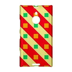 Squares And Stripes    			nokia Lumia 1520 Hardshell Case by LalyLauraFLM