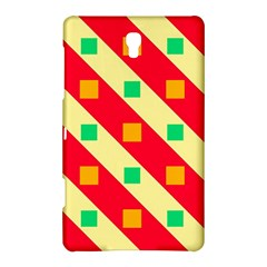 Squares And Stripes    			samsung Galaxy Tab S (8 4 ) Hardshell Case by LalyLauraFLM