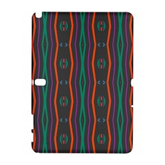 Wavy Chains Pattern     			samsung Galaxy Note 10 1 (p600) Hardshell Case by LalyLauraFLM