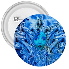 Medusa Metamorphosis 3  Buttons by icarusismartdesigns