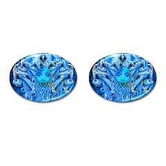 Medusa Metamorphosis Cufflinks (oval) by icarusismartdesigns