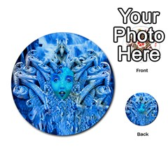 Medusa Metamorphosis Multi Purpose Cards (round)  by icarusismartdesigns