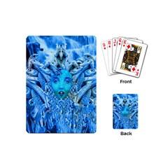 Medusa Metamorphosis Playing Cards (mini)  by icarusismartdesigns