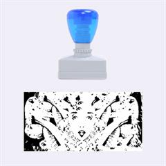 Medusa Metamorphosis Rubber Stamps (medium)  by icarusismartdesigns