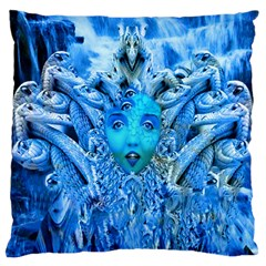 Medusa Metamorphosis Large Cushion Case (two Sides) by icarusismartdesigns