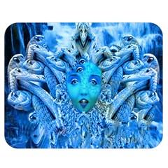 Medusa Metamorphosis Double Sided Flano Blanket (medium)  by icarusismartdesigns