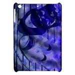 Blue Theater Drama Comedy Masks Apple iPad Mini Hardshell Case