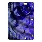 Blue Theater Drama Comedy Masks Kindle Fire HDX 8.9  Hardshell Case