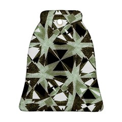 Modern Camo Print Bell Ornament (2 Sides) by dflcprints