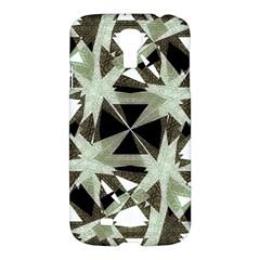 Modern Camo Print Samsung Galaxy S4 I9500/i9505 Hardshell Case by dflcprints