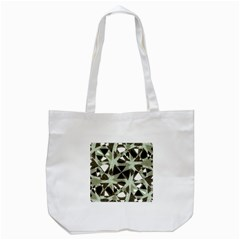 Modern Camo Print Tote Bag (white) by dflcprints