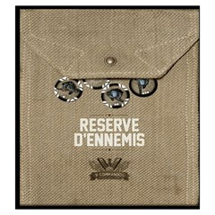 V Commando Ennemis By Dehongher   Drawstring Pouch (large)   2rdzsfgr344t   Www Artscow Com Back