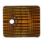 Yellow Gold Khaki Glow Pattern Samsung Galaxy S  III Flip 360 Case