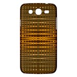 Yellow Gold Khaki Glow Pattern Samsung Galaxy Mega 5.8 I9152 Hardshell Case