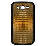 Yellow Gold Khaki Glow Pattern Samsung Galaxy Grand DUOS I9082 Case (Black)