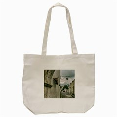 Colonial Street Of Arequipa City Peru Tote Bag (cream) by dflcprints