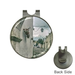 Colonial Street Of Arequipa City Peru Hat Clips With Golf Markers by dflcprints