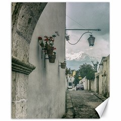 Colonial Street Of Arequipa City Peru Canvas 8  X 10  by dflcprints