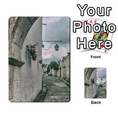 Colonial Street Of Arequipa City Peru Multi Purpose Cards (rectangle)  by dflcprints