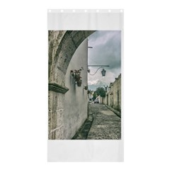 Colonial Street Of Arequipa City Peru Shower Curtain 36  X 72  (stall)  by dflcprints