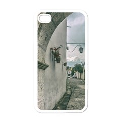 Colonial Street Of Arequipa City Peru Apple Iphone 4 Case (white) by dflcprints