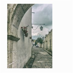 Colonial Street Of Arequipa City Peru Large Garden Flag (two Sides) by dflcprints
