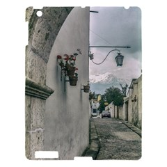 Colonial Street Of Arequipa City Peru Apple Ipad 3/4 Hardshell Case by dflcprints