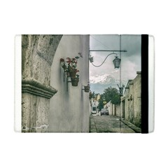 Colonial Street Of Arequipa City Peru Apple Ipad Mini Flip Case by dflcprints