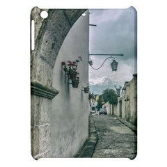 Colonial Street Of Arequipa City Peru Apple Ipad Mini Hardshell Case by dflcprints