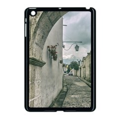Colonial Street Of Arequipa City Peru Apple Ipad Mini Case (black) by dflcprints