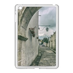 Colonial Street Of Arequipa City Peru Apple Ipad Mini Case (white) by dflcprints