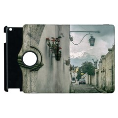 Colonial Street Of Arequipa City Peru Apple Ipad 2 Flip 360 Case by dflcprints