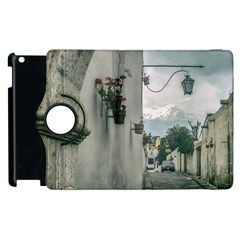 Colonial Street Of Arequipa City Peru Apple Ipad 3/4 Flip 360 Case by dflcprints