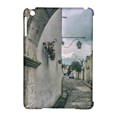 Colonial Street Of Arequipa City Peru Apple Ipad Mini Hardshell Case (compatible With Smart Cover) by dflcprints
