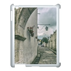 Colonial Street Of Arequipa City Peru Apple Ipad 3/4 Case (white) by dflcprints