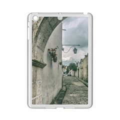 Colonial Street Of Arequipa City Peru Ipad Mini 2 Enamel Coated Cases by dflcprints