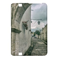 Colonial Street Of Arequipa City Peru Kindle Fire Hd 8 9