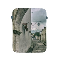 Colonial Street Of Arequipa City Peru Apple Ipad 2/3/4 Protective Soft Cases by dflcprints