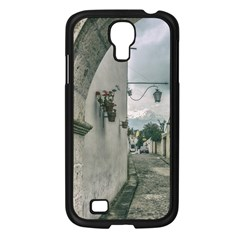 Colonial Street Of Arequipa City Peru Samsung Galaxy S4 I9500/ I9505 Case (black) by dflcprints
