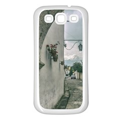 Colonial Street Of Arequipa City Peru Samsung Galaxy S3 Back Case (white) by dflcprints