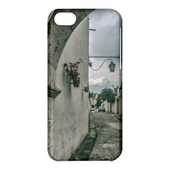 Colonial Street Of Arequipa City Peru Apple Iphone 5c Hardshell Case by dflcprints