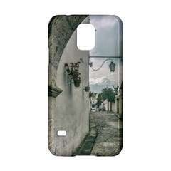 Colonial Street Of Arequipa City Peru Samsung Galaxy S5 Hardshell Case  by dflcprints